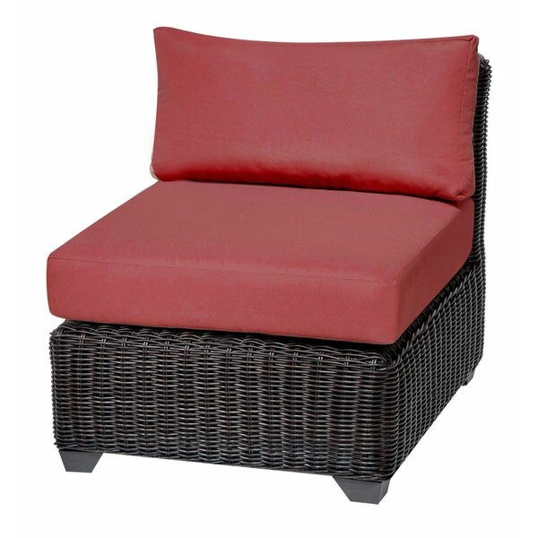 Eldredge Patio Chair with Cushions (Set of 2) by Rosecliff Heights