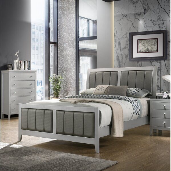 Goggans Upholstered Platform Bed by Orren Ellis