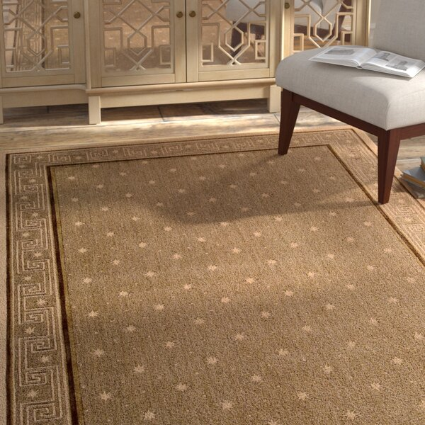 Dunnstown Chestnut Area Rug by Bloomsbury Market