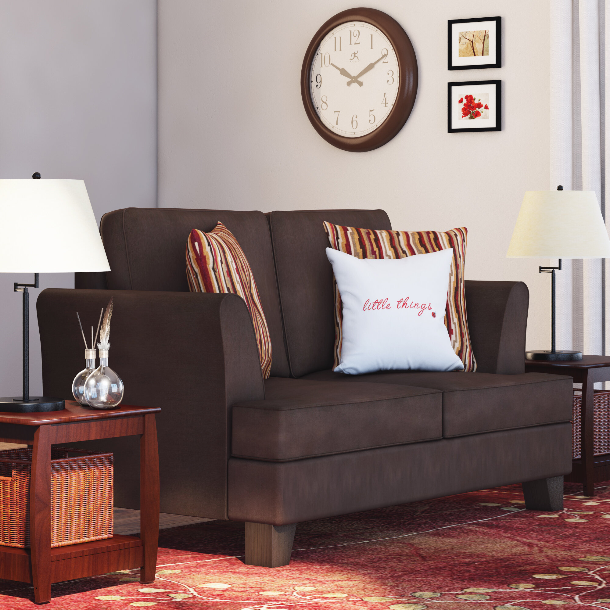 Red Barrel Studio Simmons Upholstery Antin Loveseat Sleeper Sofa Reviews  Wayfair