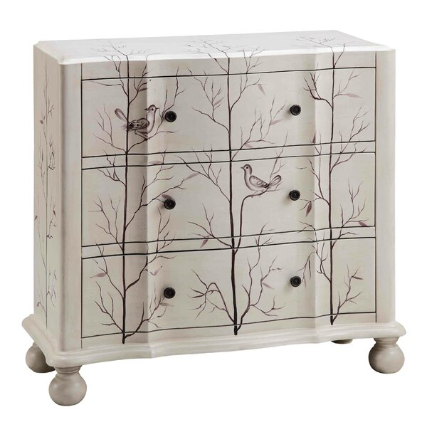 Vitela 3 Drawer Accent Chest by Ophelia & Co. Ophelia & Co.