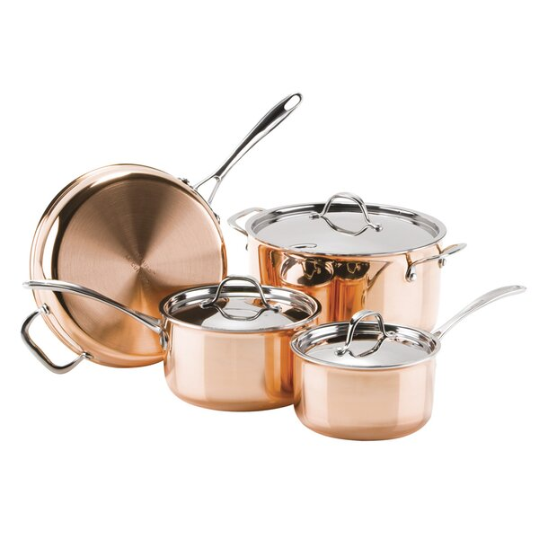 Cosette 7 Piece Le Cuivre Cookware Set by Symple Stuff
