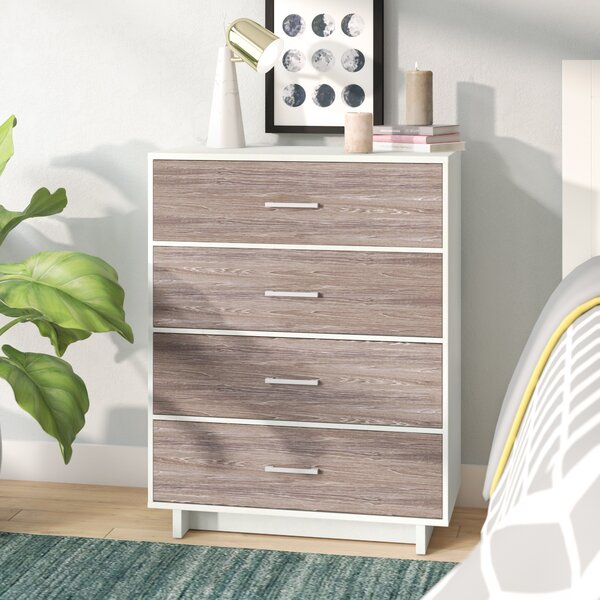 Chicopee Wood 4 Drawer Chest by Zipcode Design