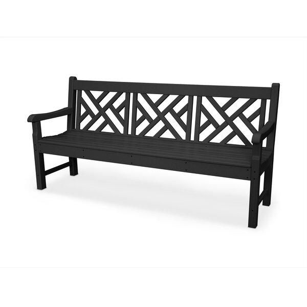 Rockford Chippendale Plastic Garden Bench by POLYWOOD POLYWOOD®