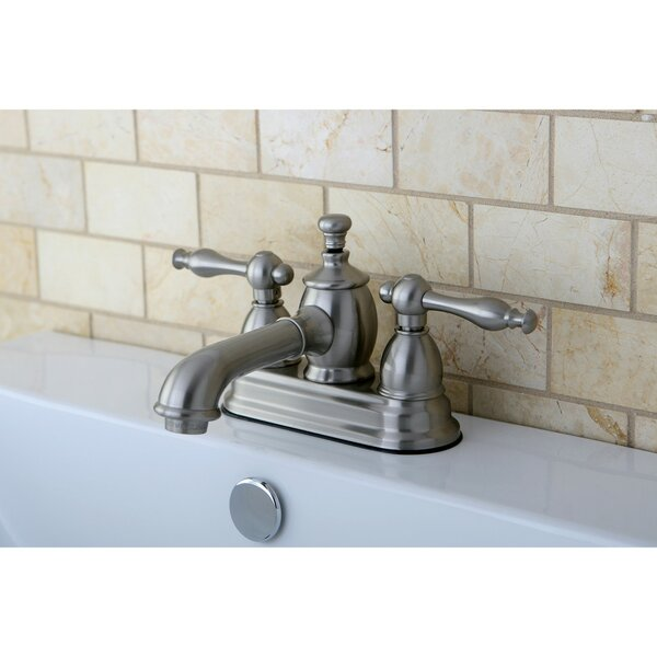 Naples Centerset Bathroom Faucet with Drain Assembly