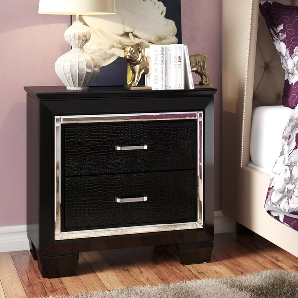 Ibrahim 2 Drawer Nightstand by Willa Arlo Interiors