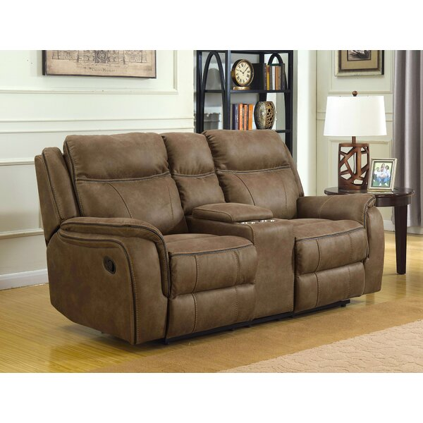 Closeout Rakhimov Reclining Loveseat by Loon Peak by Loon Peak