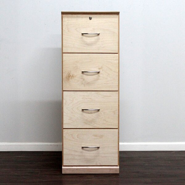 Boykin 4-Drawer Vertical File by Ebern Designs