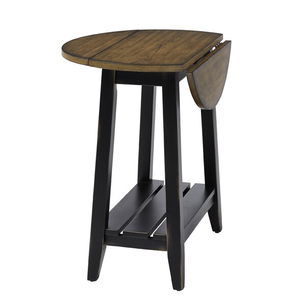 End Table With Storage By Longshore Tides