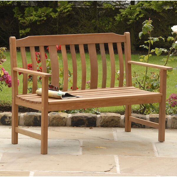 Highland Nyatta Hardwood Bench by SunTime Outdoor Living