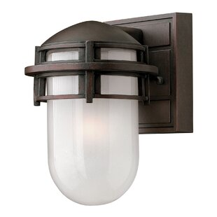 Reviews Warriner Outdoor Sconce By Breakwater Bay