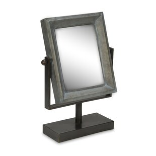 Looking for Tin Frame Tabletop Makeup/Shaving Mirror By Tripar