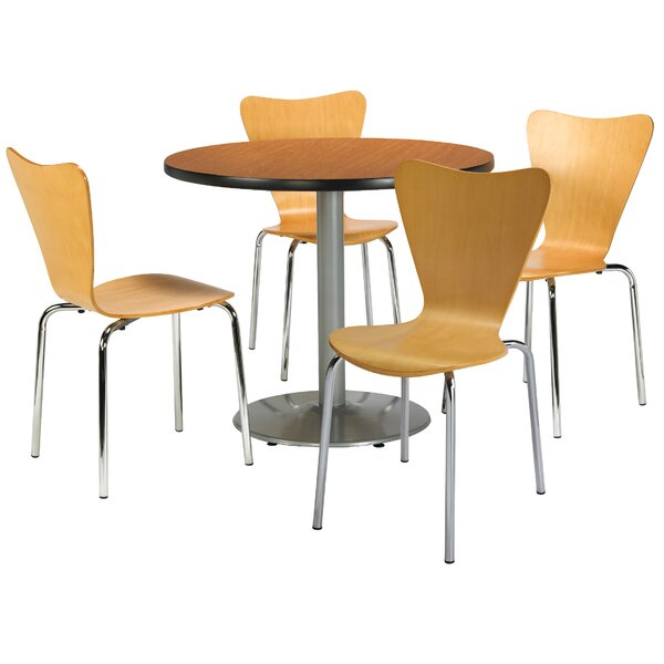 5 Piece Dining Set by KFI Seating