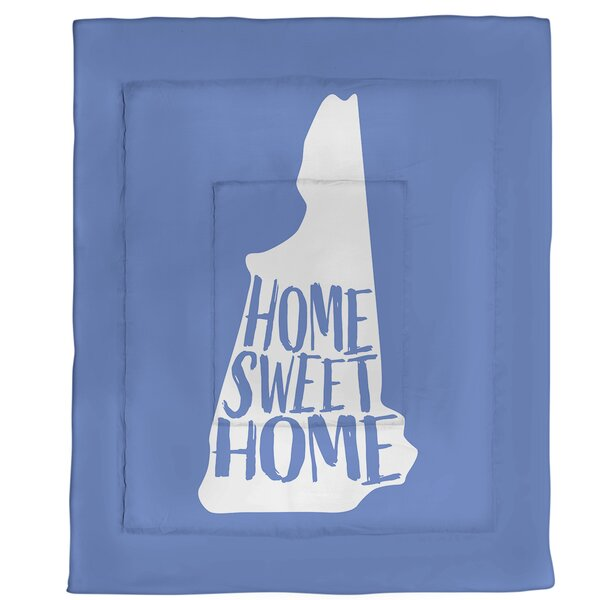 Hampshire Home Sweet Single Reversible Comforter