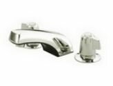Americana Widespread Bathroom Faucet With Drain Assembly By Elements Of Design