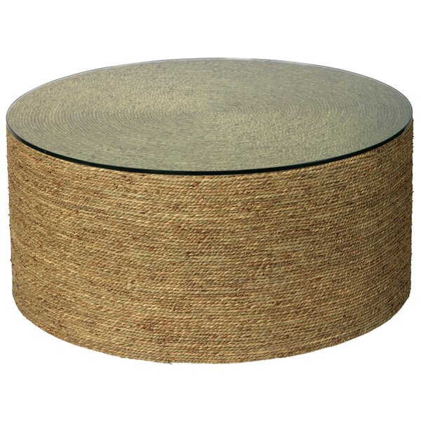 Adler Drum Coffee Table By Bay Isle Home