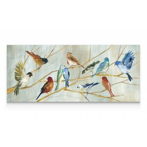 'Spring Migration' Oil Painting Print on Wrapped Canvas by Alcott Hill