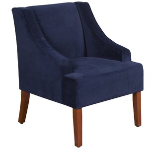 Review Krantz Swoop Armchair by Andover Mills