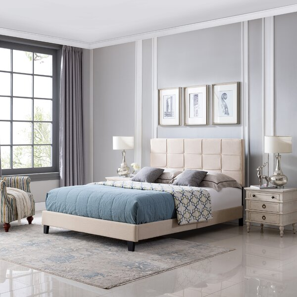 Gracelyn Queen Upholstered Platform Bed by Ebern Designs