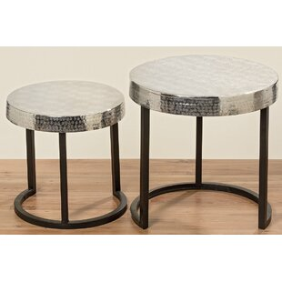 Comparison Robbin 2 Piece End Table Set By Bloomsbury Market