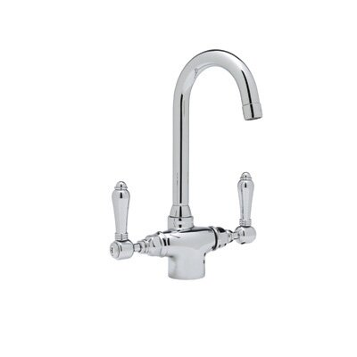 Country Kitchen Two Handle Single Hole Bar Mixer Faucet by Rohl