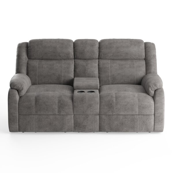 Avalon Gray Reclining Loveseat By American Wholesale Furniture