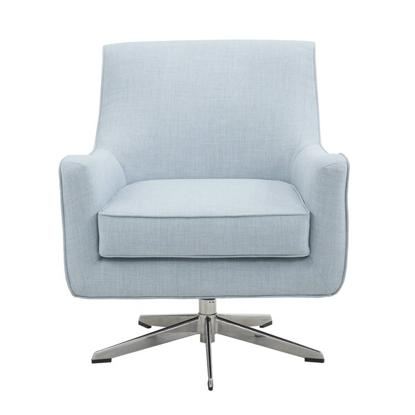 Ariana Swivel Armchair by Modern Rustic Interiors