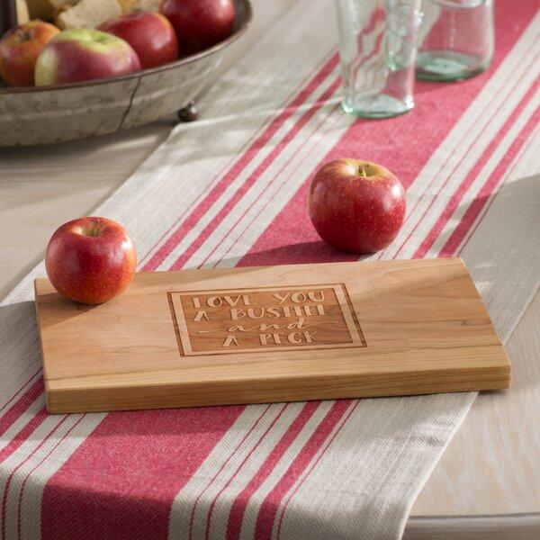 Hiram Bushel and a Peck Artisan Wood Cutting Board by Laurel Foundry Modern Farmhouse