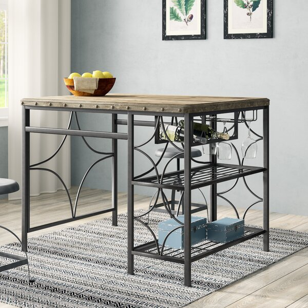 Ethel Counter Height Dining Table by Gracie Oaks