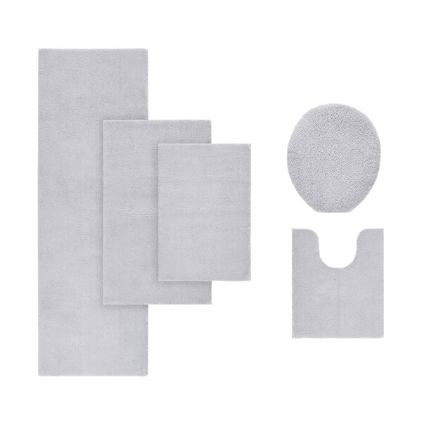 Marshmallow Bath Rug by Madison Park Signature