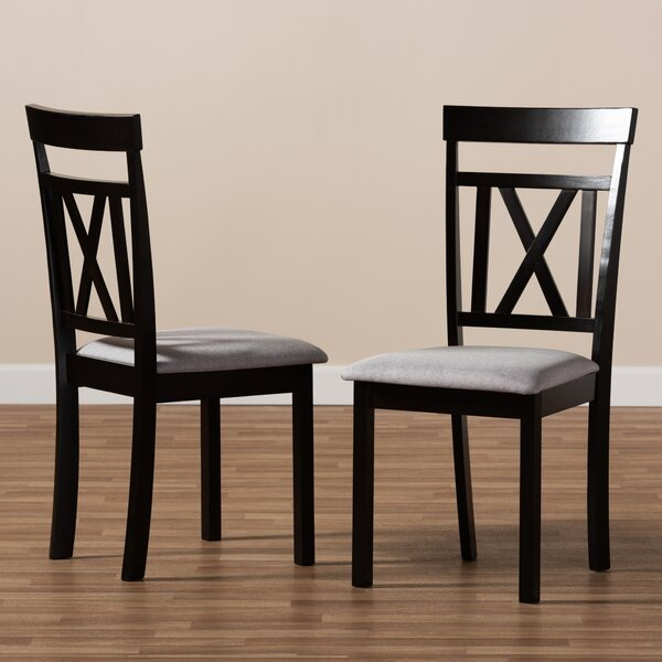 Sheena Solid Wood Dining Chair (Set of 2) by Winston Porter