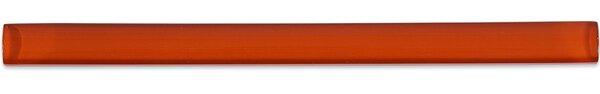 0.75 x 12 Glass Pencil Liner Tile in Red Burn by Splashback Tile