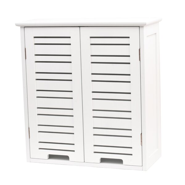 Miami 20.5 W x 21.7 H Wall Mounted Cabinet by Evideco