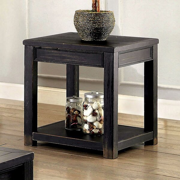 Mcnatt End Table by Gracie Oaks