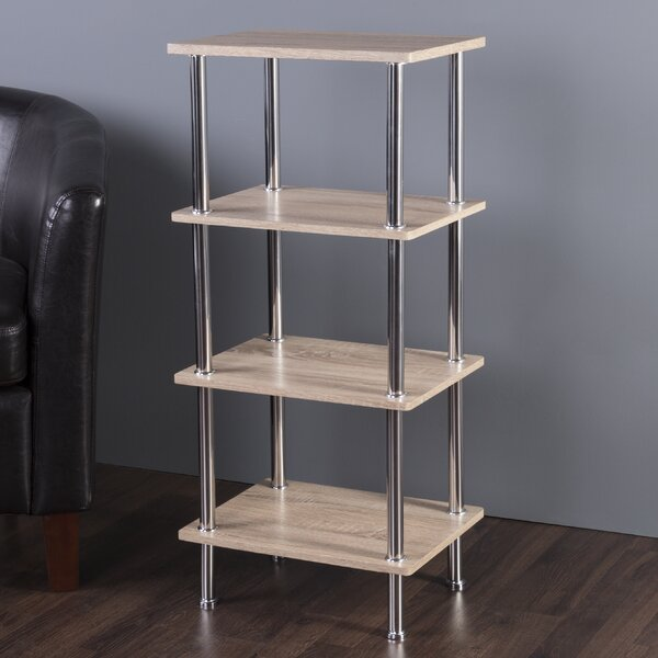 Adelinna 4 Tier Etagere Bookcase by Latitude Run