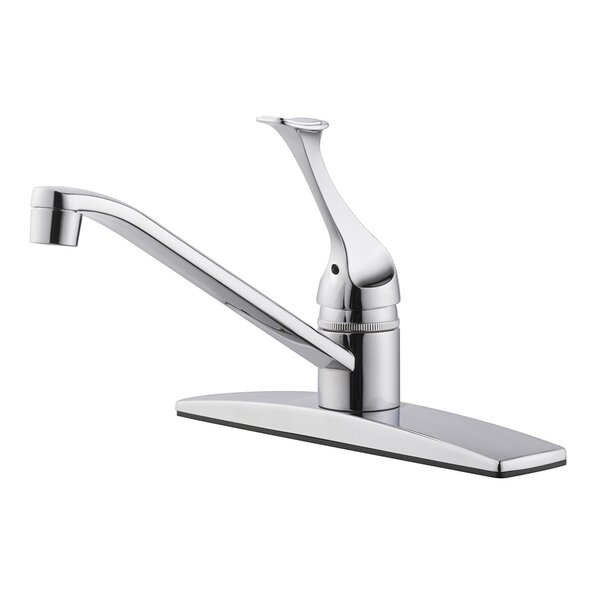 Millbridge Single Handle Kitchen Faucet with Side Spray by Design House