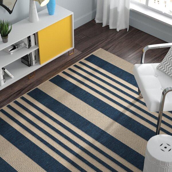 Sophina Navy/Beige Indoor/Outdoor Area Rug by Zipcode Design