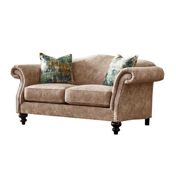 New London Mid Century Loveseat by Fleur De Lis Living