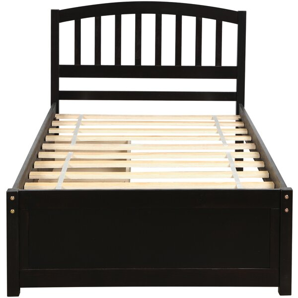 Nshan Twin Storage Platform Bed by Winston Porter