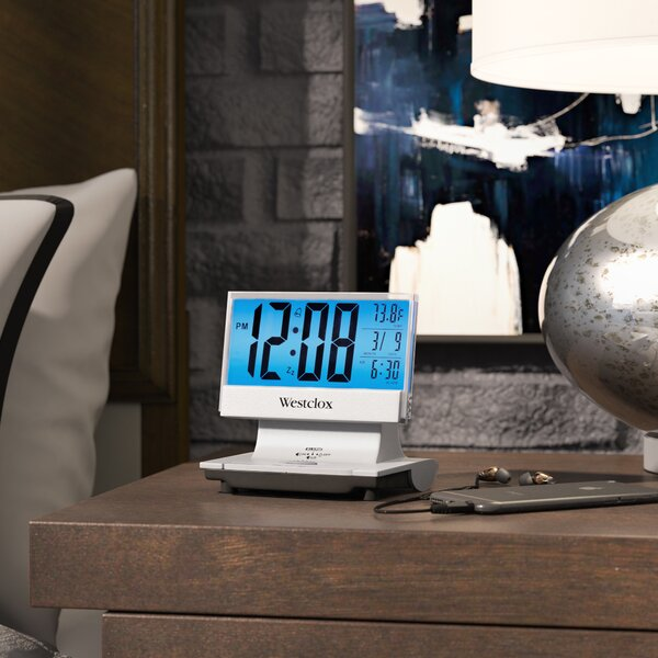 Desktop Clock by Ebern Designs