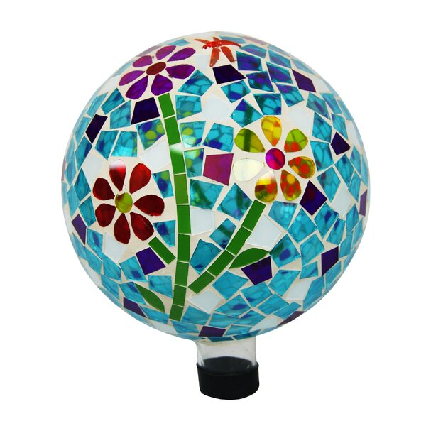 Flowers Gazing Globe by Alpine