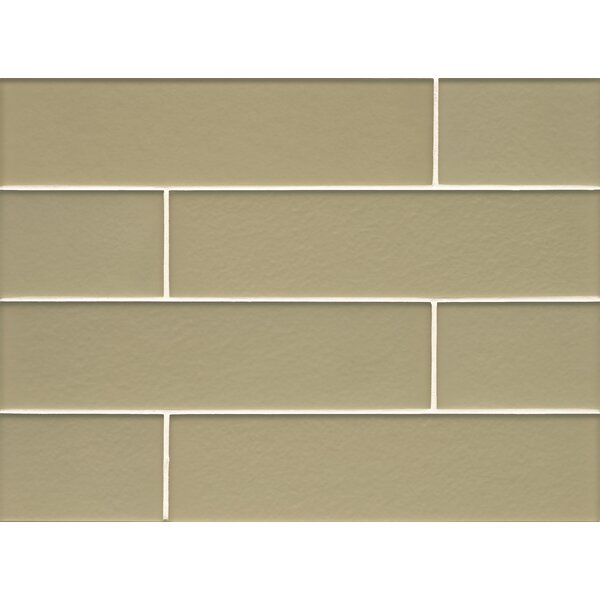 Remy Glass 4 x 16 Glass Field Tile in Meadow by Grayson Martin