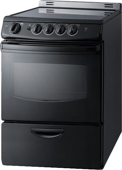 summit appliance summit 24 slide in smooth top electric range reviews wayfair. Black Bedroom Furniture Sets. Home Design Ideas