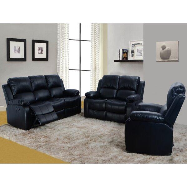 Nermin Faucher 3 Piece Reclining Living Room Set By Latitude Run