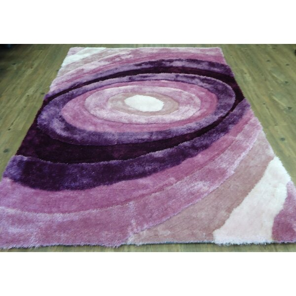 Hand-Tufted Lavender Area Rug by Rug Factory Plus