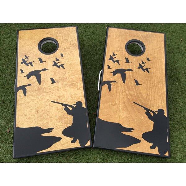 Duck Hunt Custom 10 Piece Cornhole Set by West Georgia Cornhole