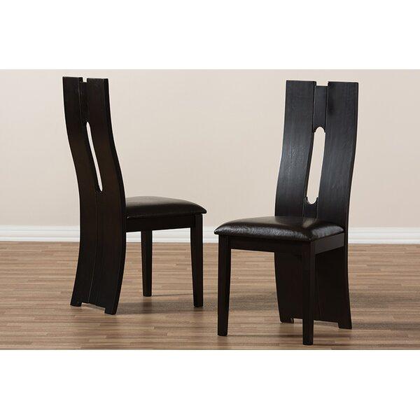 Crewkerne Upholstered Dining Chair (Set of 2) by Orren Ellis Orren Ellis