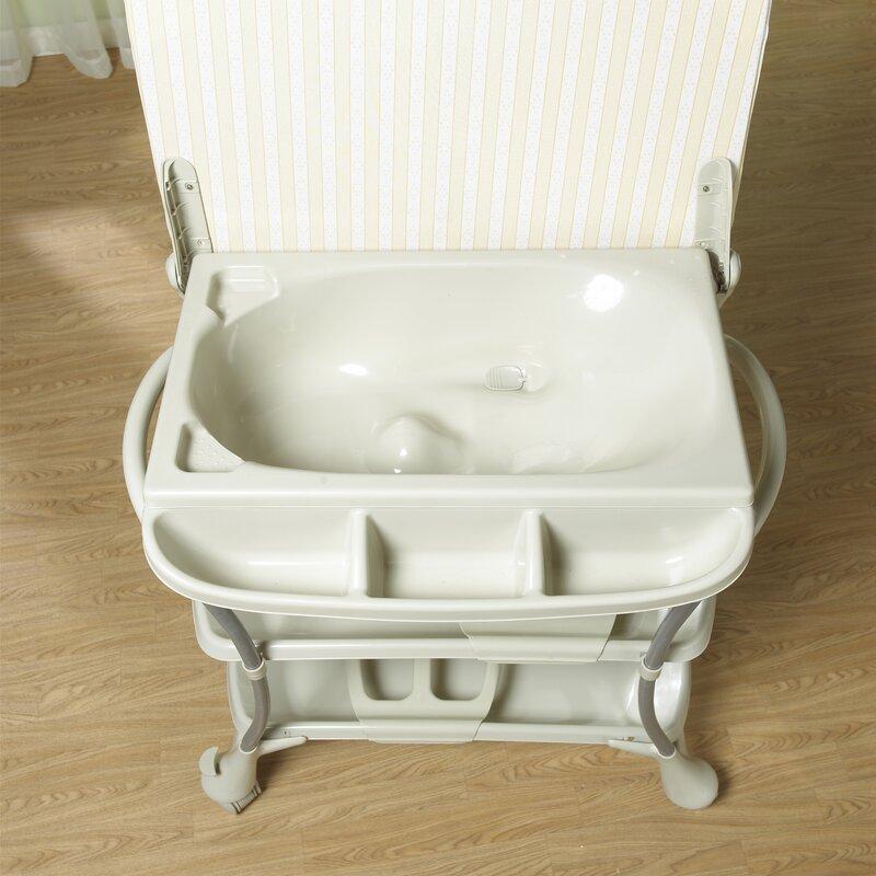 Primo Euro Spa Baby Bathtub and Changer Combo & Reviews | Wayfair