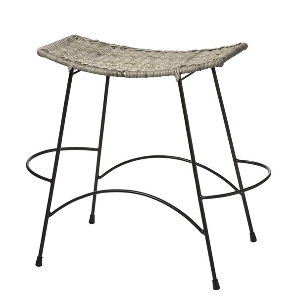 Baptiste Wing Bar & Counter Stool by Bungalow Rose Bungalow Rose
