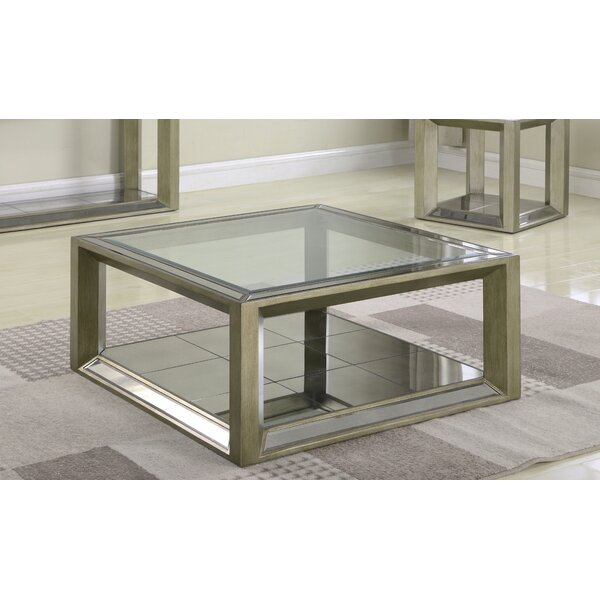 Laury Glass Coffee Table by Everly Quinn